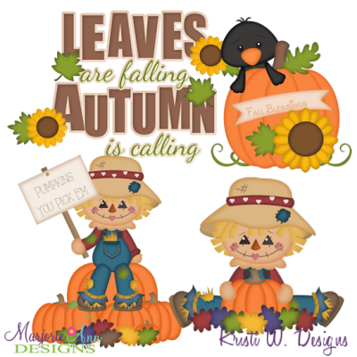 Happy Fall SVG Cutting Files Includes Clipart