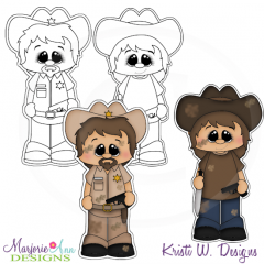 The Walking Cute-Set 2 Exclusive Digital Stamps + Clipart