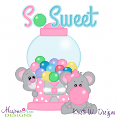 So Sweet SVG Cutting Files Includes Clipart