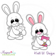 Hoppy Easter 6 Exclusive Digital Stamp + Clipart