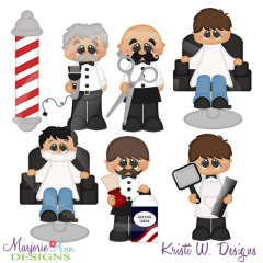 When I Grow Up~Barber SVG Cutting Files Includes Clipart