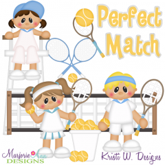 Perfect Match SVG Cutting Files Includes Clipart
