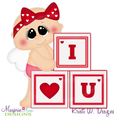 Cupid Cutie Cutting Files-Includes Clipart