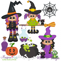 Witches Brew 2 SVG Cutting Files Includes Clipart