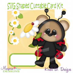 Little Lady~Shaped SVG/MTC Card Kit/Cutting File