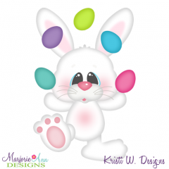 Juggling Eggs SVG Cutting Files Includes Clipart