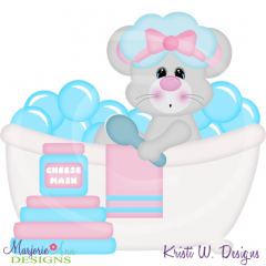 Squeaky Clean-Mouse Cutting Files-Includes Clipart