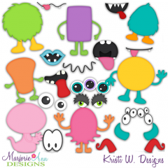 Do It Yourself_Monsters SVG Cutting Files Includes Clipart