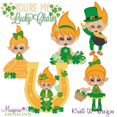 You're My Lucky Charm-Trolls SVG Cutting Files Includes Clipart