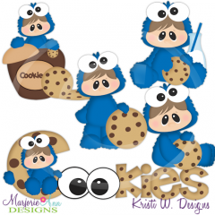 I Love Cookies Cutting Files-Includes Clipart