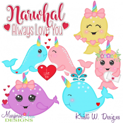 Magical Valentine SVG Cutting Files Includes Clipart
