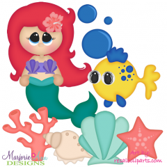Under The Sea EXCLUSIVE SVG Cutting Files Includes Clipart