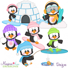 Snow Much Fun SVG Cutting Files Includes Clipart