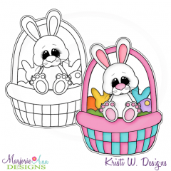 Hoppy Easter 3 Exclusive Digital Stamp + Clipart