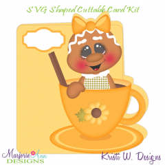 Flavors Of Fall~Ginger 2~Shaped SVG/MTC Card Kit/Cutting File