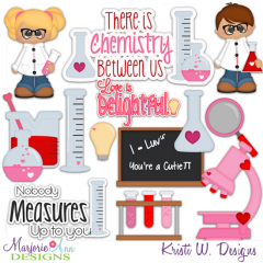 We Have Chemistry SVG Cutting Files Includes Clipart