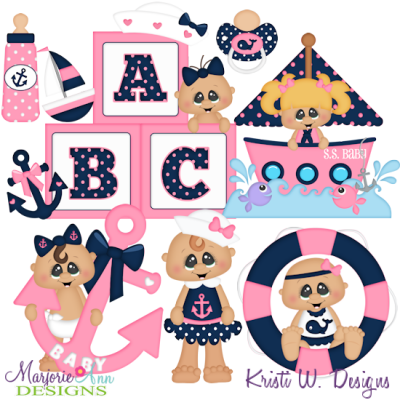 Anchor's Away SVG Cutting Files + Clipart