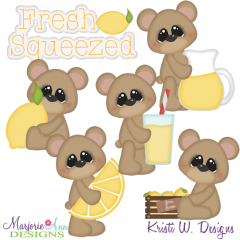Fresh Squeezed SVG Cutting Files + Clipart