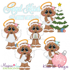 Angel Kisses & Winter Wishes Exclusive SVG Cutting Files+Clipart