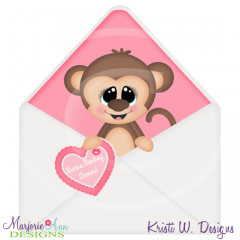 Wanna Monkey Around Cutting Files-Includes Clipart