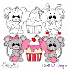 Life Is Sweeter With You Exclusive Digital Stamp + Clipart