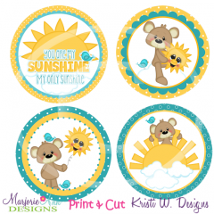 You Are My Sunshine- Print & Cut