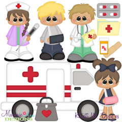 ER Visit SVG Cutting Files + Clipart