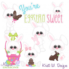 You're Eggstra Sweet Cutting Files-Includes Clipart