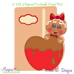 Flavors Of Fall~Ginger 1~Shaped SVG/MTC Card Kit/Cutting File