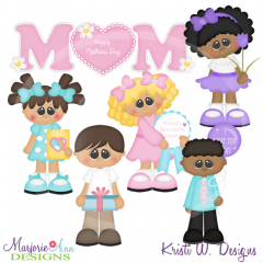 A Gift For Mom Cutting Files-Includes Clipart
