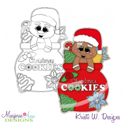 Sweets For Santa Digital Stamp + Clipart