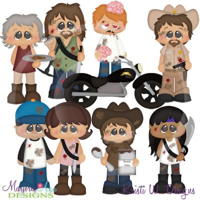 The Walking Cute Exclusive SVG Cutting Files Includes Clipart