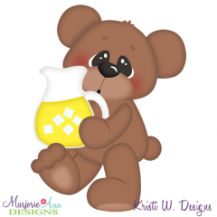 Lemonade Bear Cutting Files-Includes Clipart