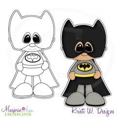 Little Super Hero 1 Digital Stamp + Clipart