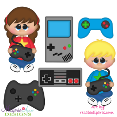 Gamers Exclusive SVG Cutting Files Includes Clipart