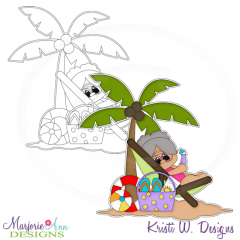 Retirement Life Digital Stamp + Clipart
