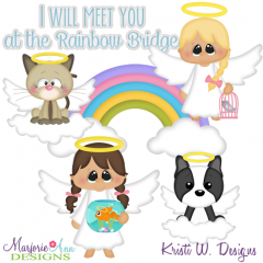 Rainbow Bridge SVG Cutting Files + Clipart