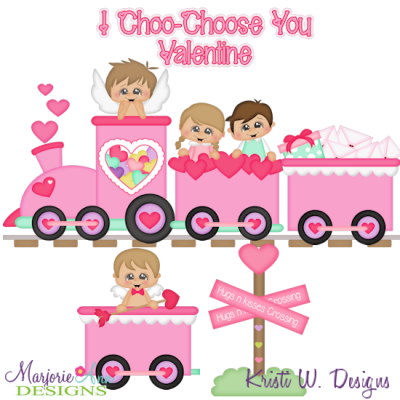 Love Express SVG Cutting Files Includes Clipart
