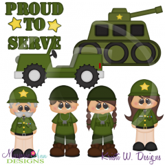 Army Proud SVG Cutting Files Includes Clipart
