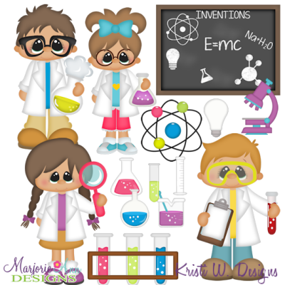 Science Is Fun SVG Cutting Files Includes Clipart