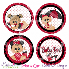 Baby Mouse-Girl Exclusive SVG Cutting Files + Clipart