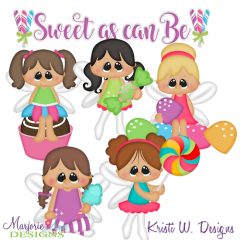Sweet As Can Be SVG Cutting Files Includes Clipart