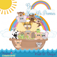 God Keeps His Promises SVG Cutting Files Includes Clipart