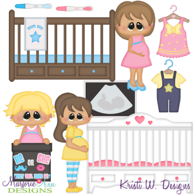 Mommy To Be SVG Cutting Files Includes Clipart