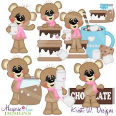 Smore Cocoa EXCLUSIVE SVG Cutting Files Includes Clipart