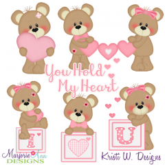 You Hold My Heart SVG Cutting Files + Clipart