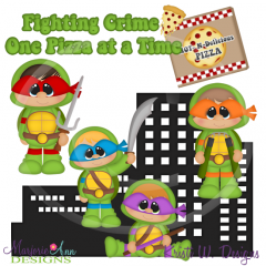 Warrior Turtles~Boys SVG Cutting Files Includes Clipart