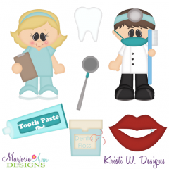 When I Grow Up~Dentist Cutting Files-Includes Clipart