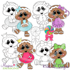 Sugarplums Exclusive Digital Stamps + Clipart