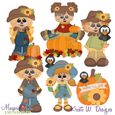Happy Fall Y'all SVG Cutting Files Includes Clipart